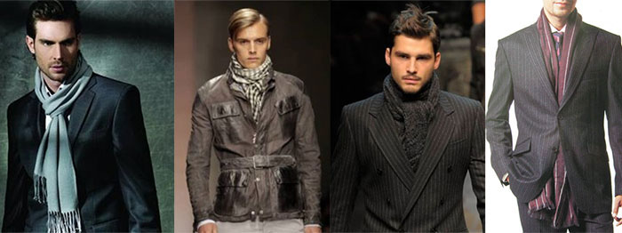 How to wear scarves without looking like an emo kid