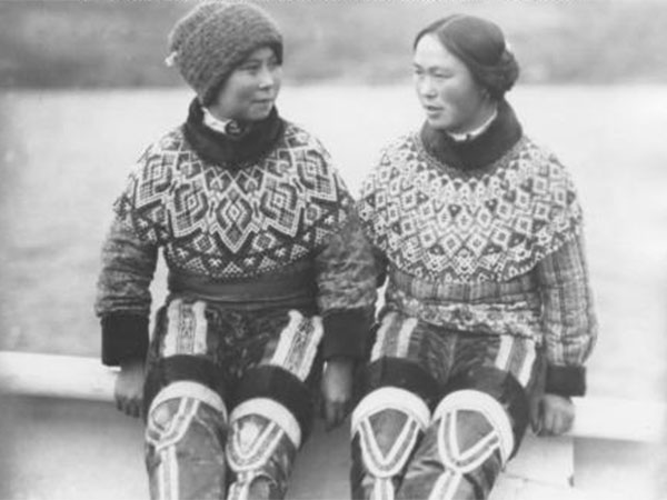 young girls from greenland