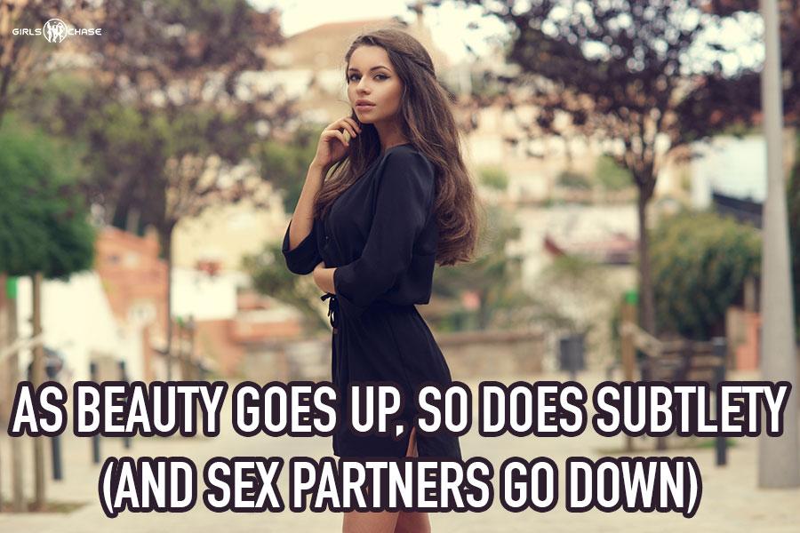 hot women are subtle