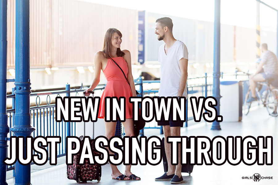 new in town dating