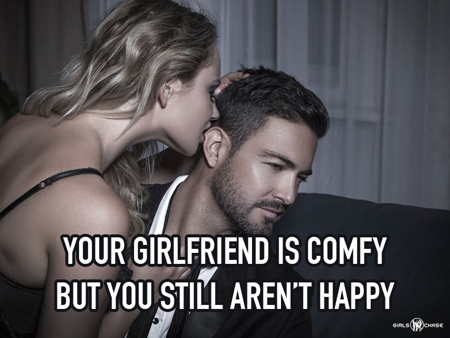 comfy relationship unhappy