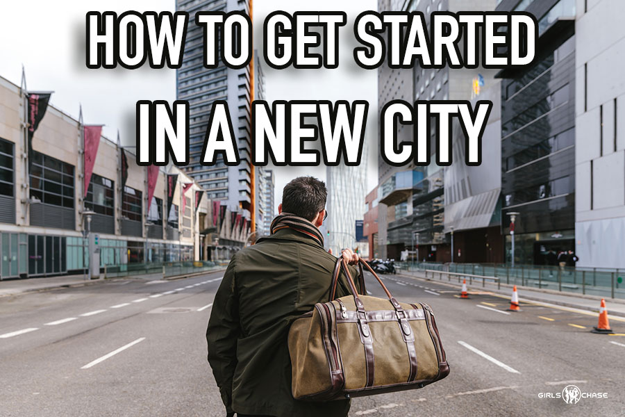 how to get started in a new city