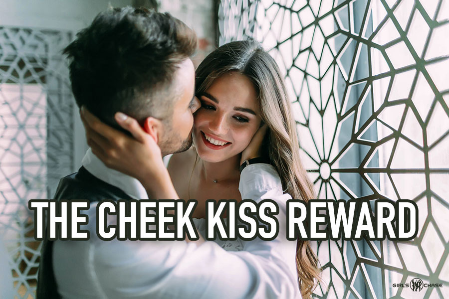 cheek kiss reward