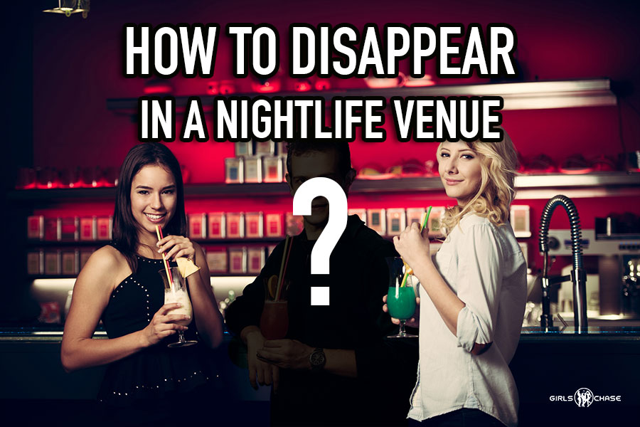 disappear in a club