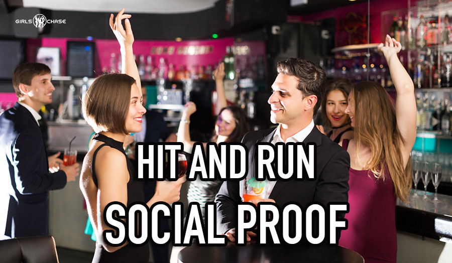 hit and run social proof