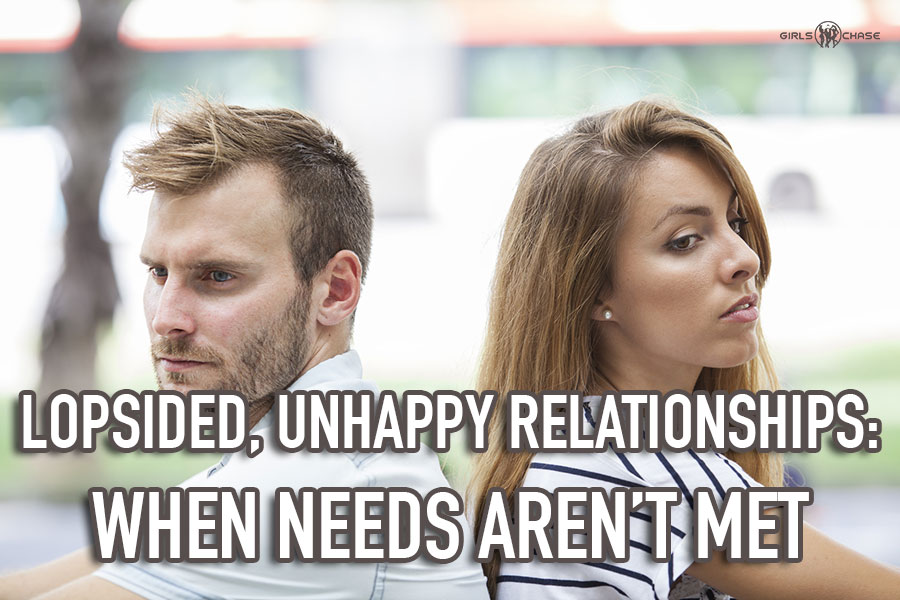 unhappy relationship
