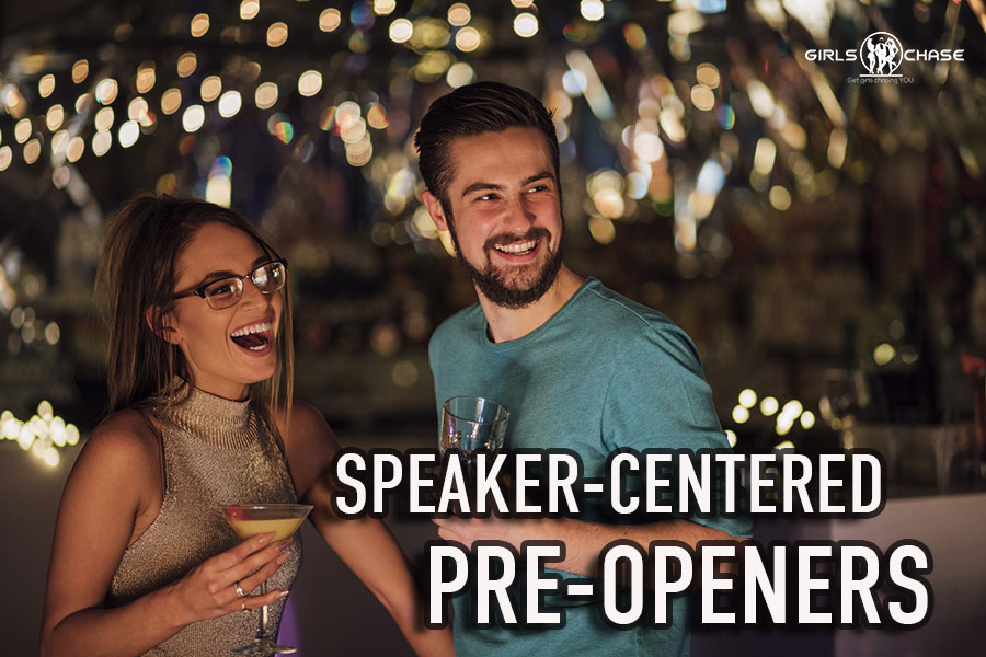 speaker-centered pre-openers