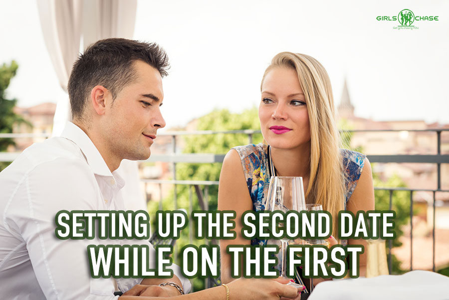 setting up second date while on first
