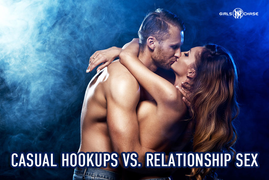 casual hookup vs relationship sex