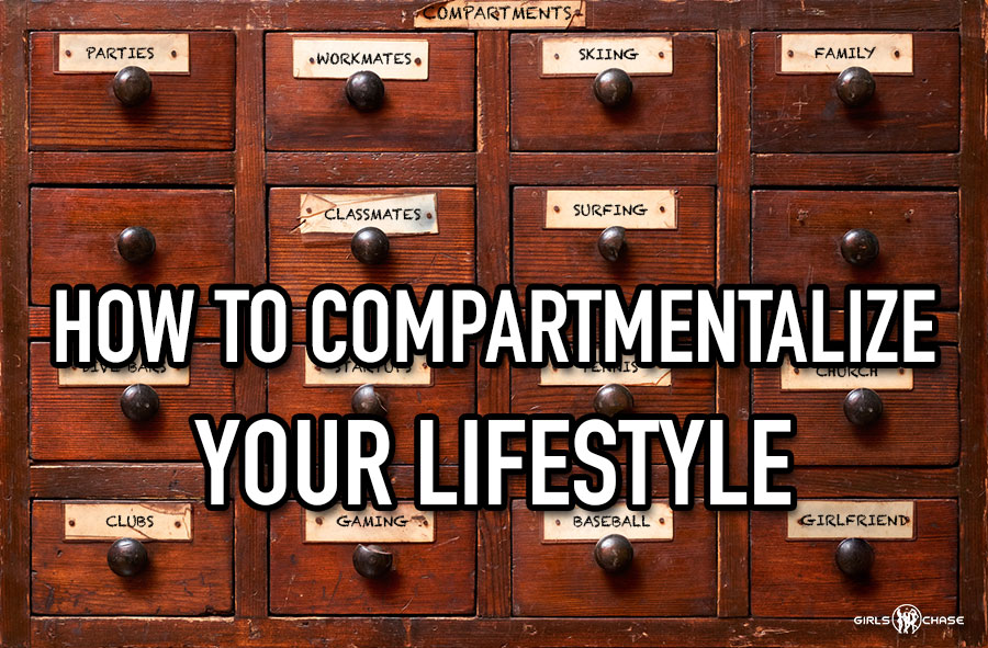 compartmentalize lifestyle