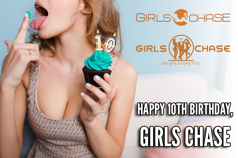 girls chase 10 year birthday