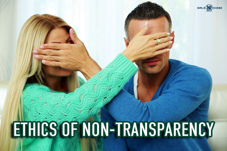 ethics of non-transparency