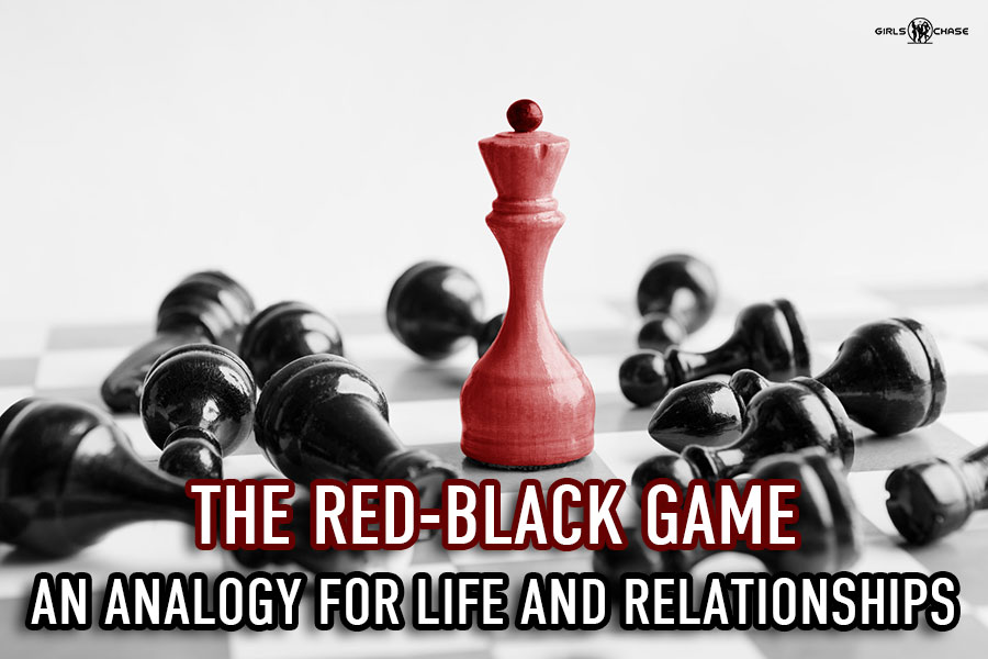 red-black game analogy for life and relationships