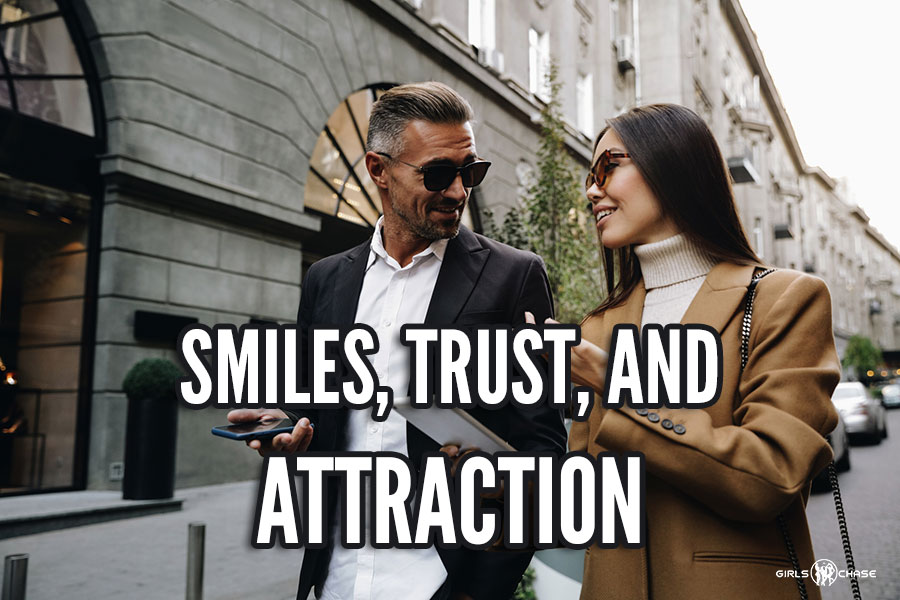 smile and attraction