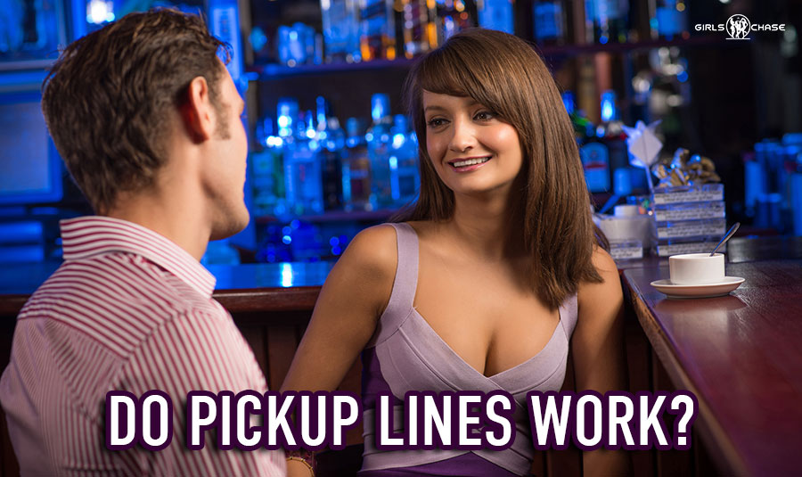Do pickup lines work on women