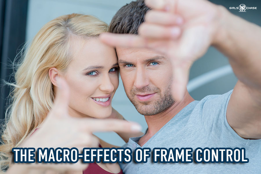 frame control and interactions with girls
