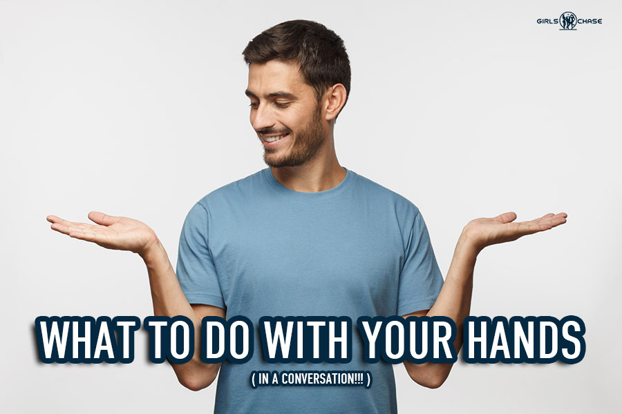 hand gestures for talking to women