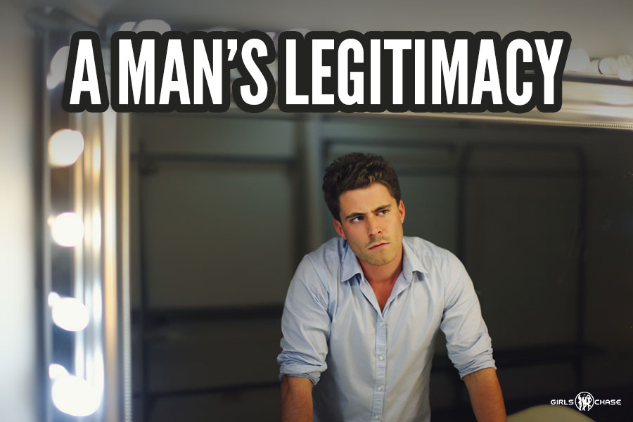 man's legitimacy
