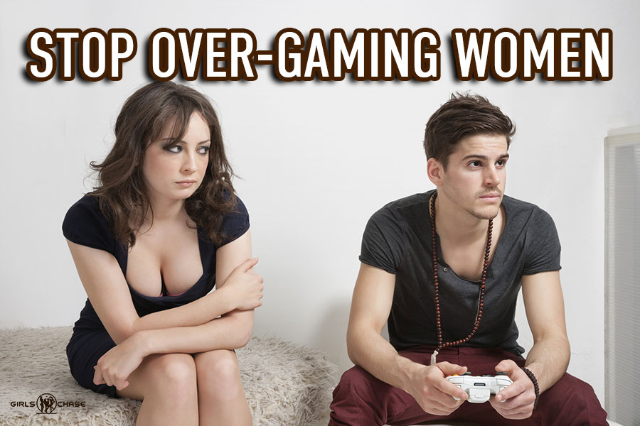 over-gaming women