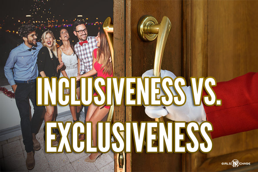 inclusiveness vs. exclusiveness