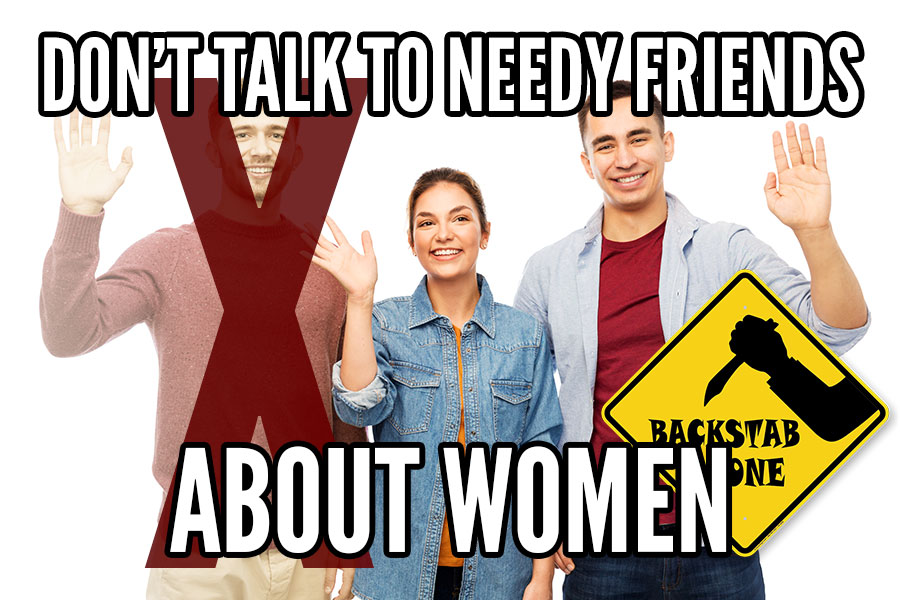 needy friends women