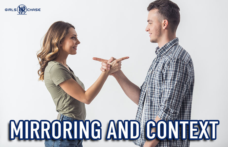 mirroring to attract women