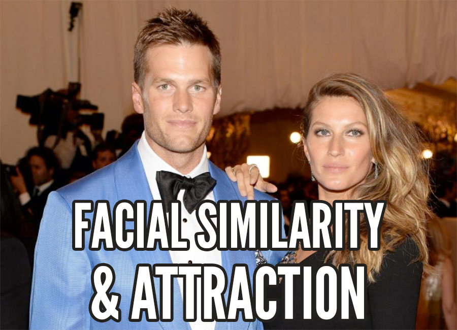 facial similarity attraction