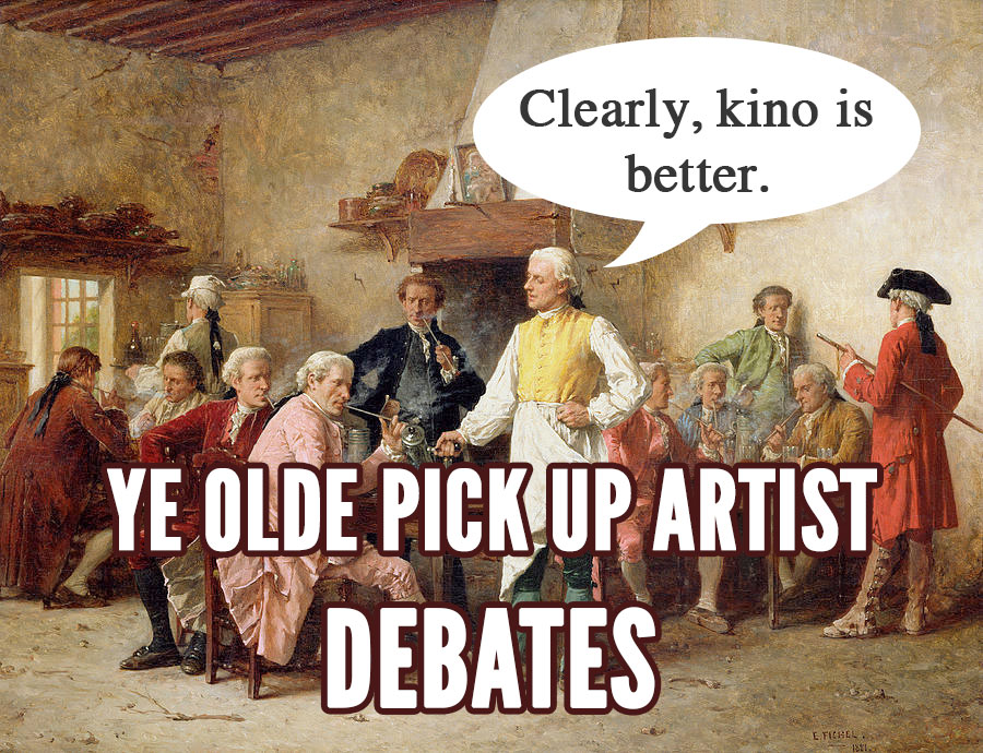 pick up debates
