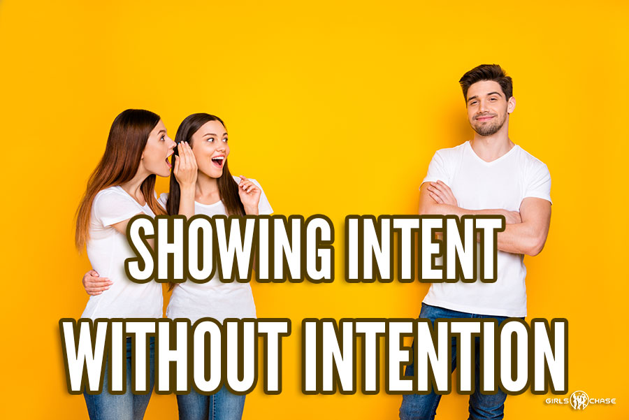 showing intent
