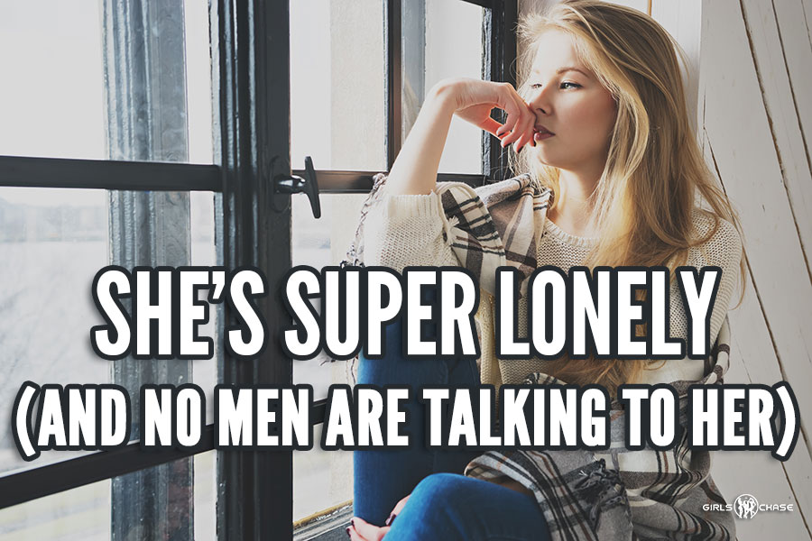 women lonelier than ever