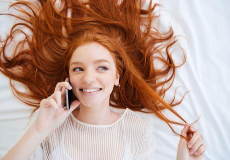 bonding phone call
