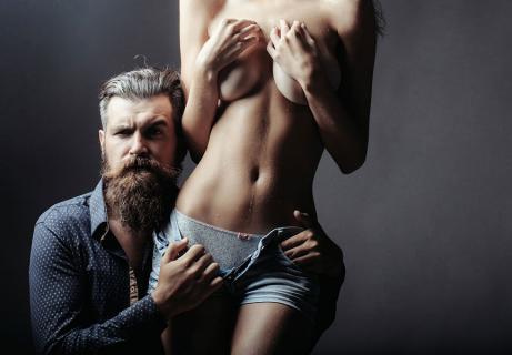 make a woman undress