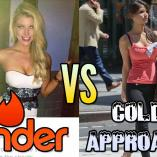 tinder vs cold approach