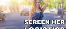 screen her logistics